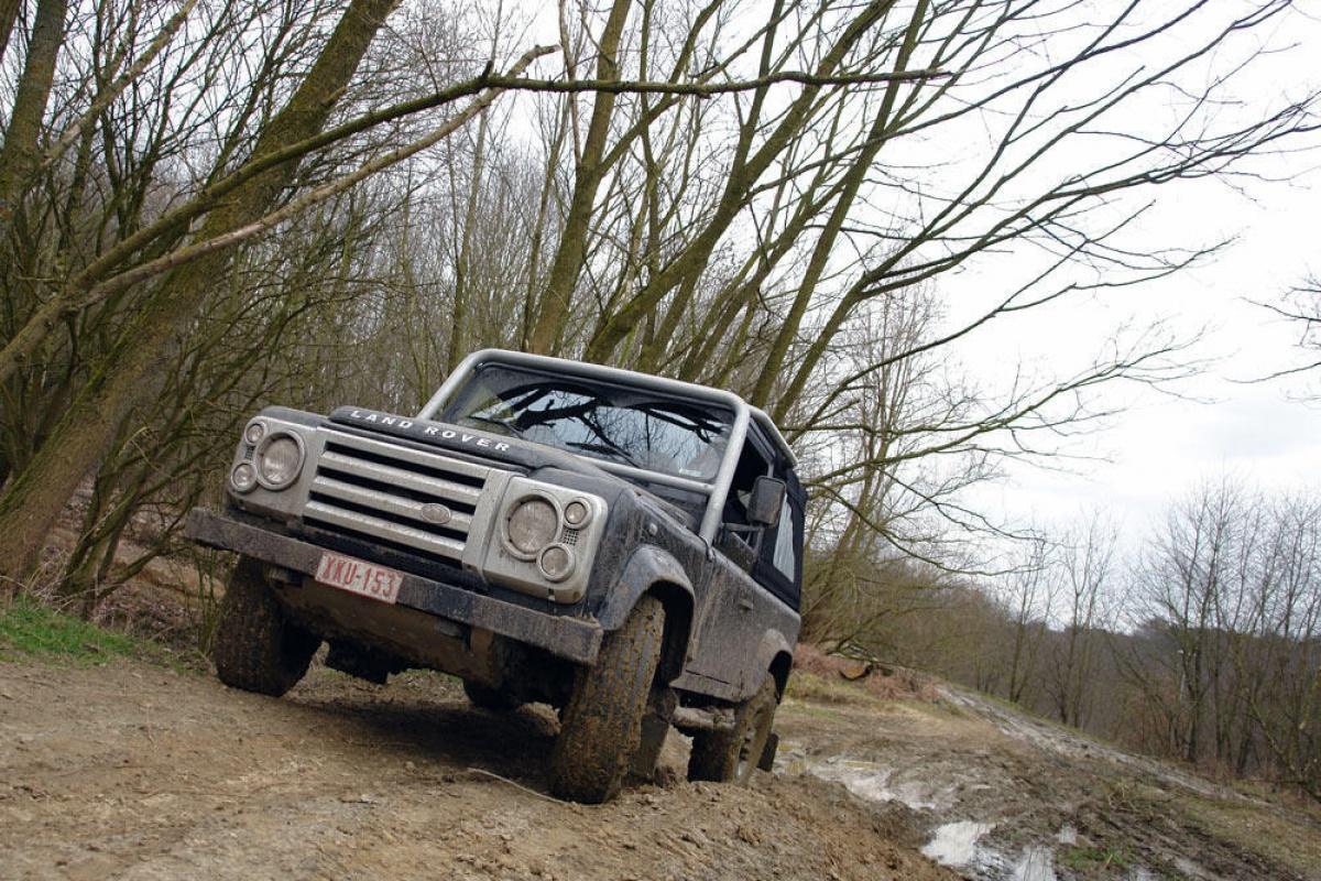 Land Rover Defender Svx Auto55 Be