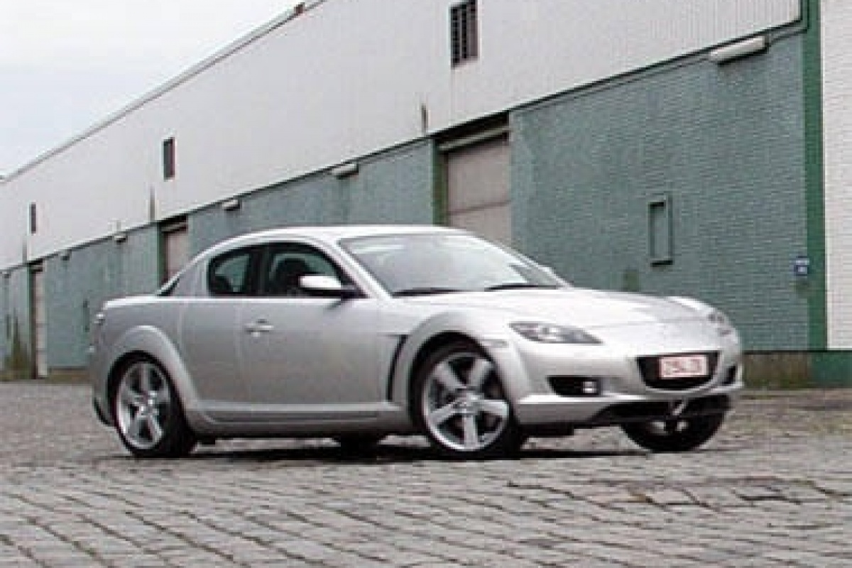 mazda rx 8 high power tests. Black Bedroom Furniture Sets. Home Design Ideas