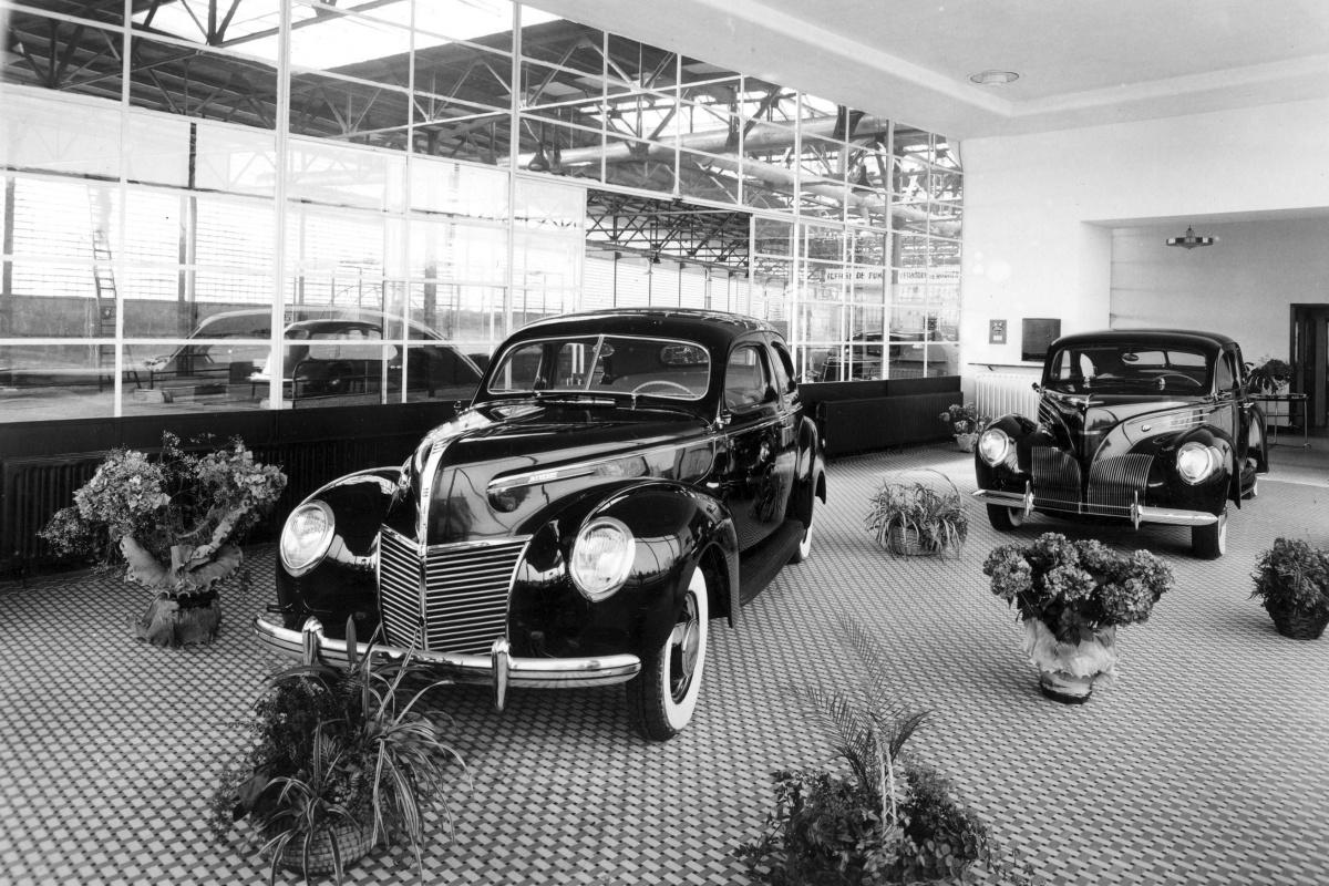 Permeke Motors 100 Jaar Ford Verdeler Auto55 Be Nieuws