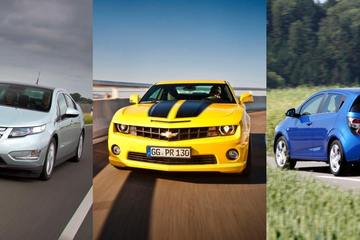 Kennismaking: Chevrolet Camaro, Volt, Aveo diesel | Auto55.be | Nieuws