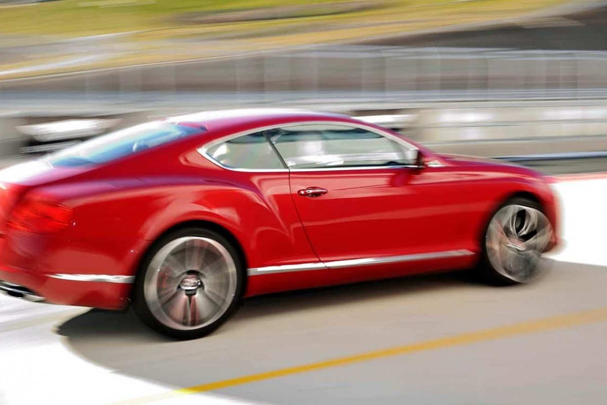 Bentley Continental GT V8 Test