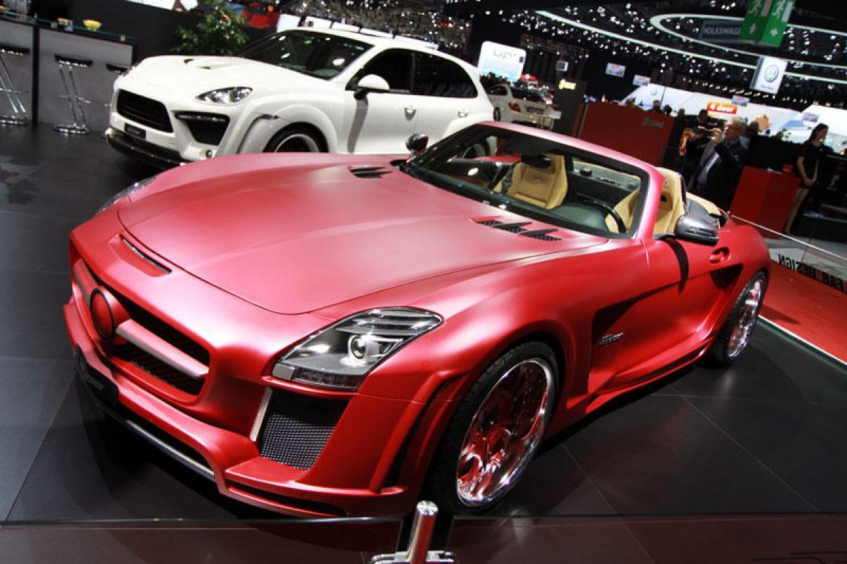 Geneva Motorshow 2012 (1/3 Aston Martin - Hamann)
