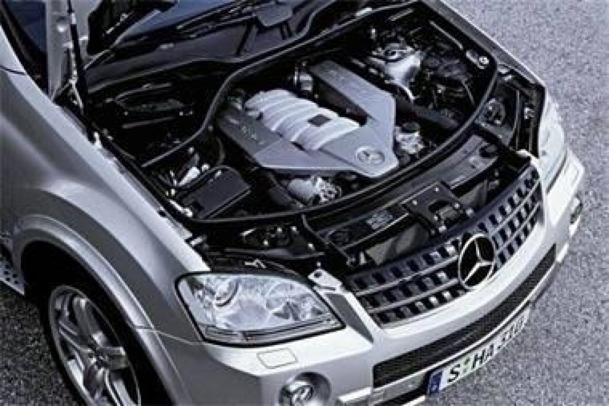 Super Suv Mercedes Ml 63 Amg Auto55 Be Nieuws