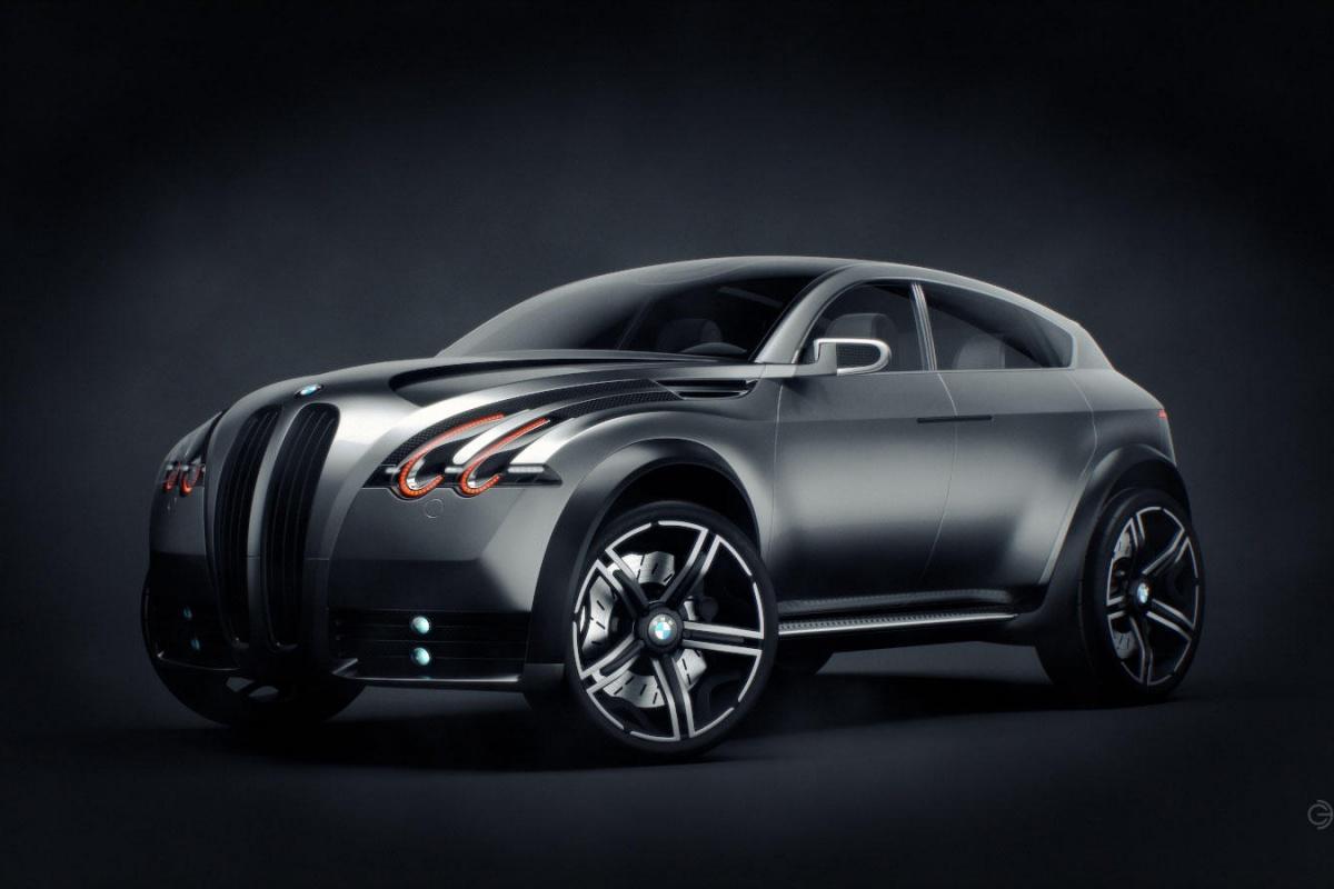Bmw xs designstudie loopt op de zaken vooruit for Automotive exterior design jobs