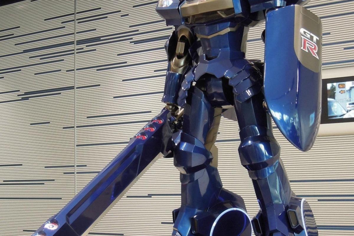 Nissan GT-R robot