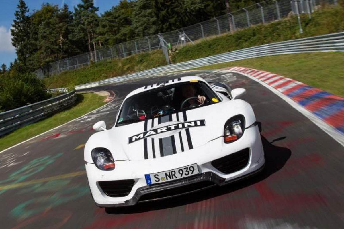 Porsche 918 Spyder Nürburgring