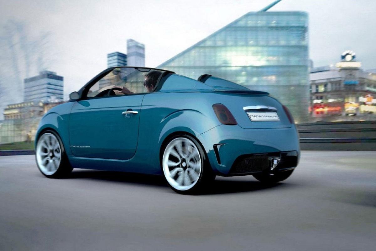Fiat 500 Bellavista Speedster Concept