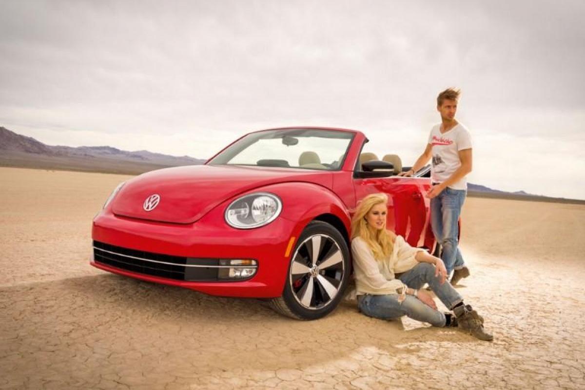 VW Beetle Cabrio MY2013