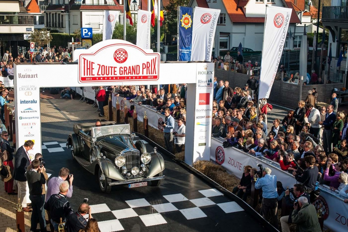 Knokke Zoute Grand Prix Concours d'Elegance (sunday)