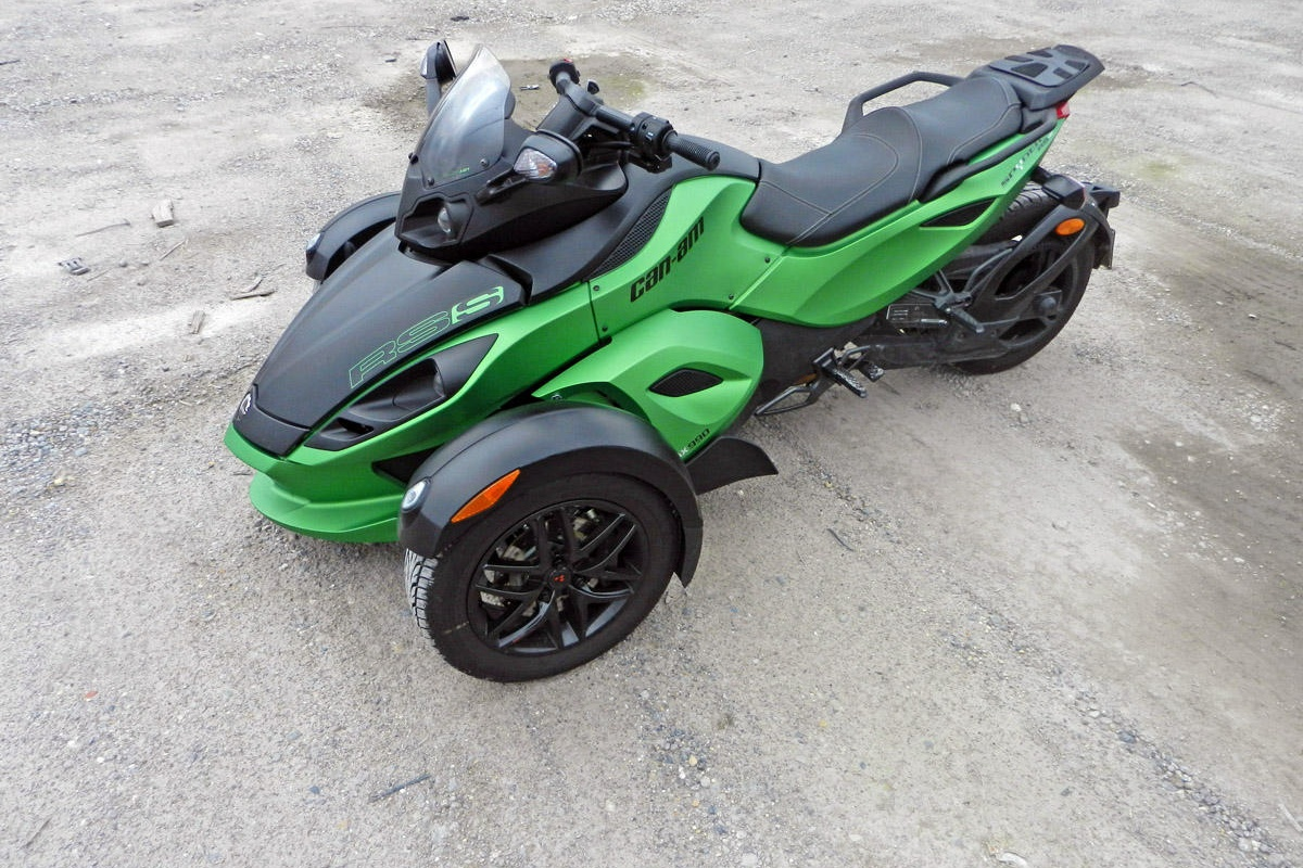 Can-Am Spyder RS-S Roadster