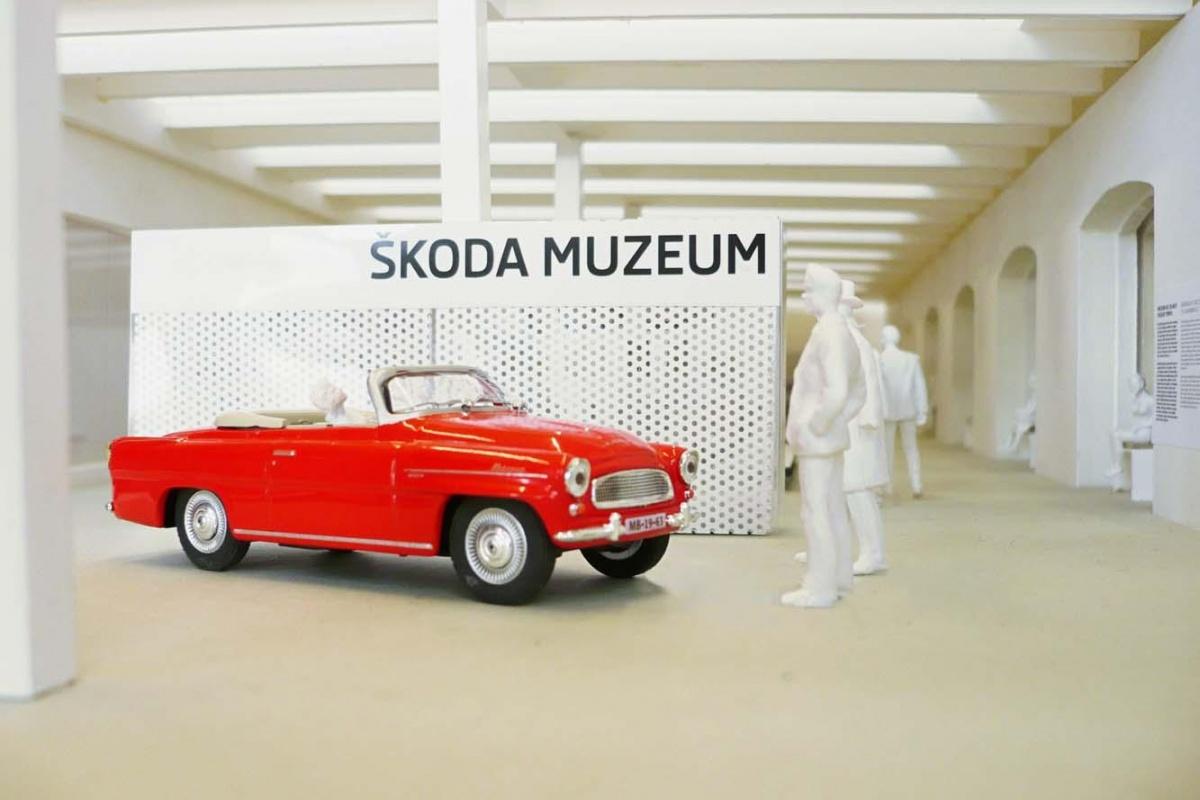 Skoda Museum maquette