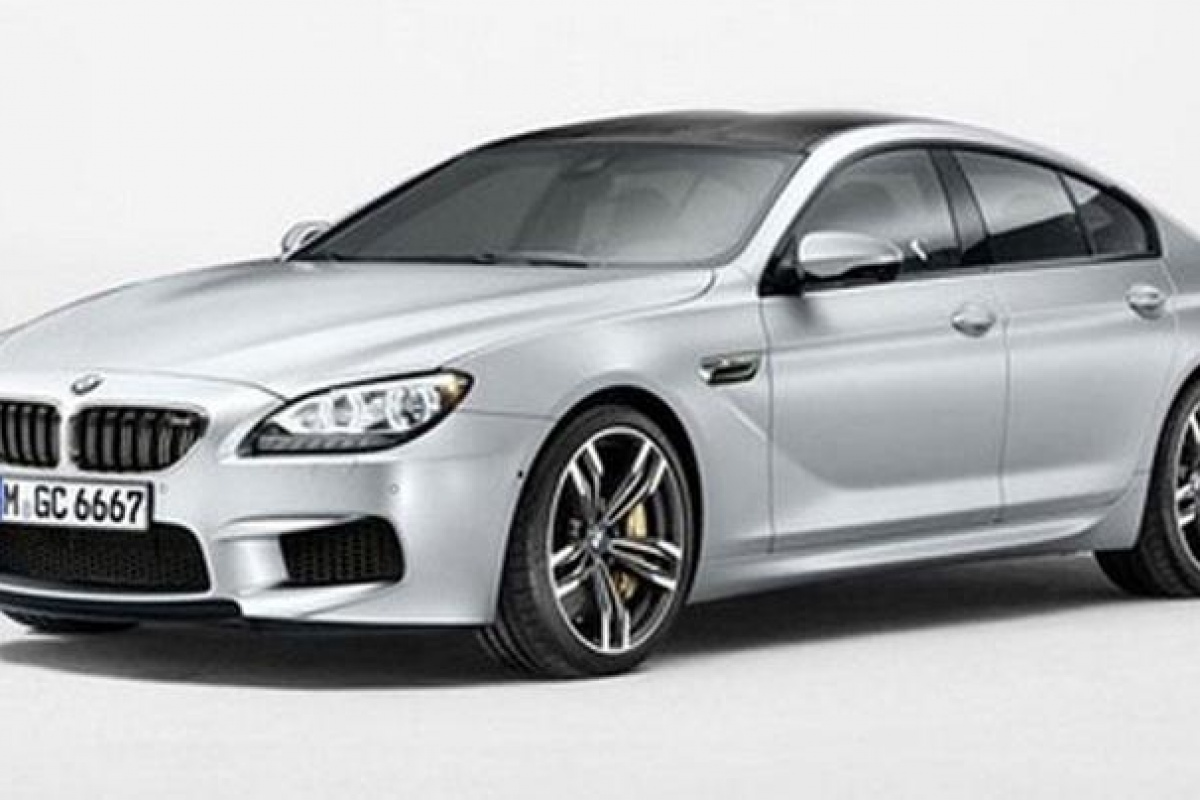 BMW M6 Gran Coupe preview