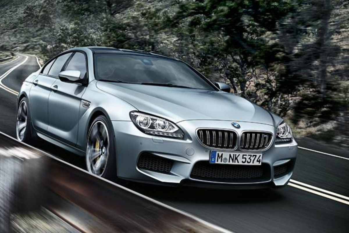 BMW M6 Gran Coupe MY2013