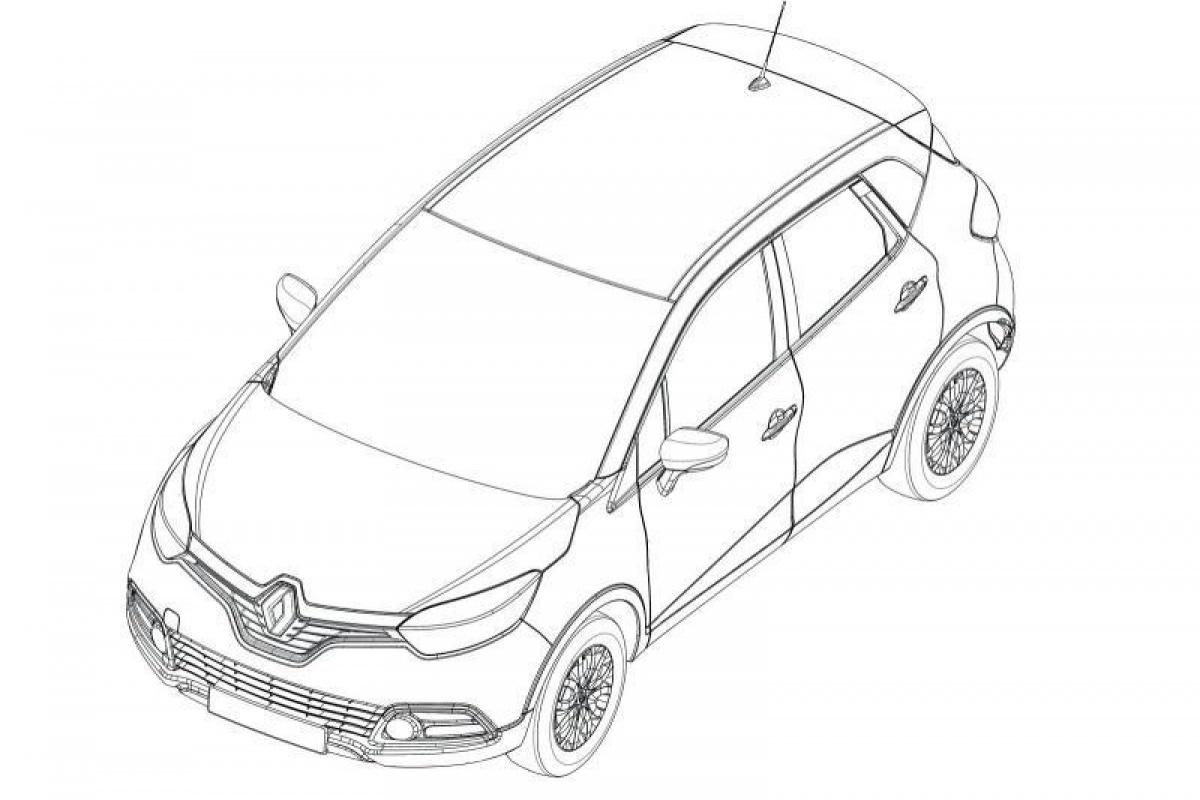 Renault Captur patent