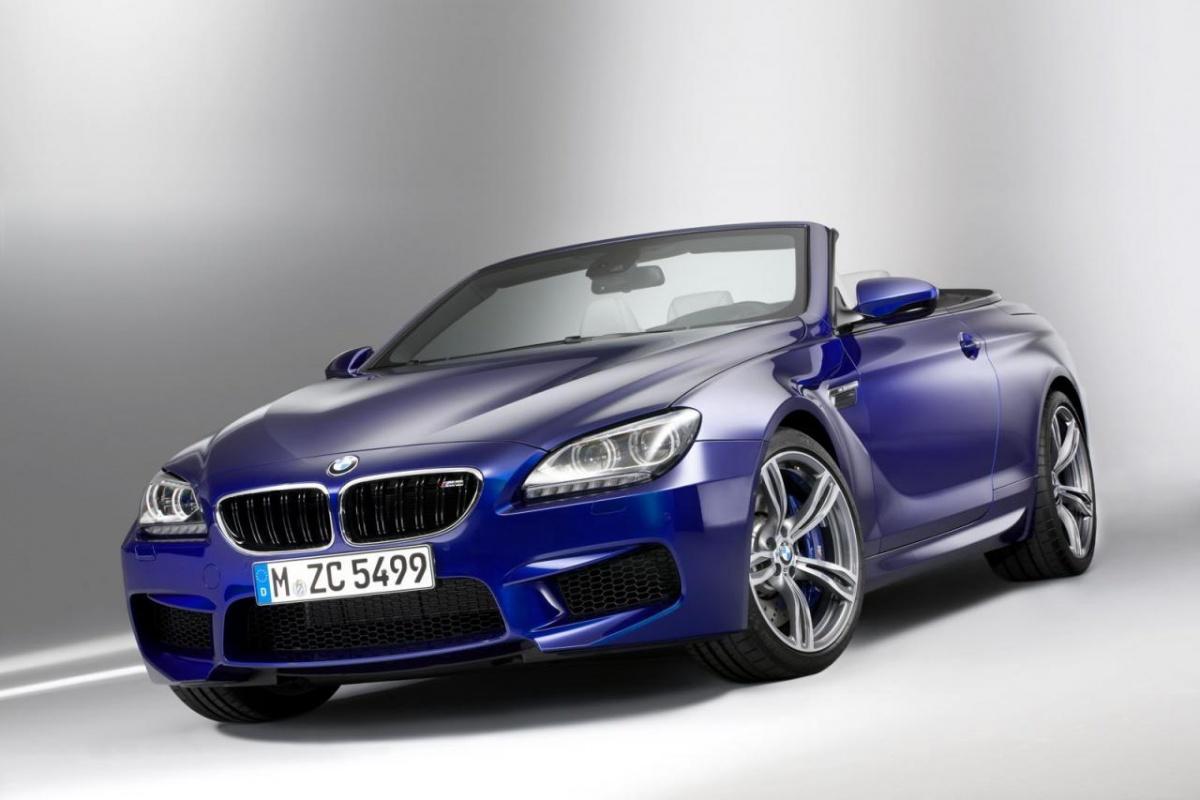 BMW M6 convertible MY2012