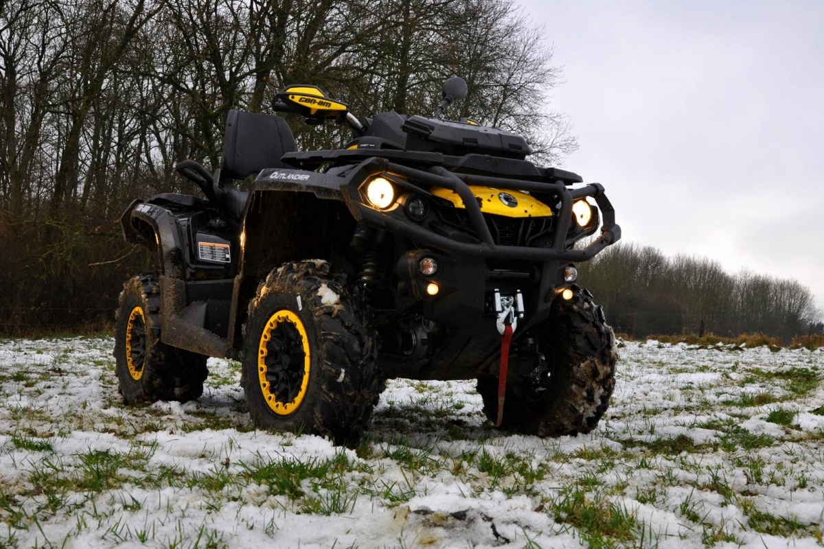 Can Am 1000 >> Can-Am Outlander 1000 MAX | Auto55.be | Tests