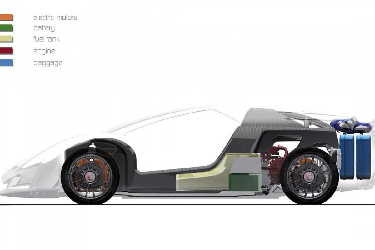 Bristol Hybrid concept