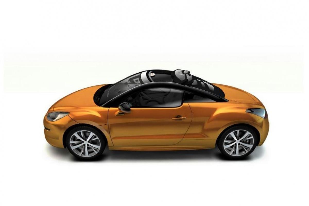 Peugeot RCZ View Top