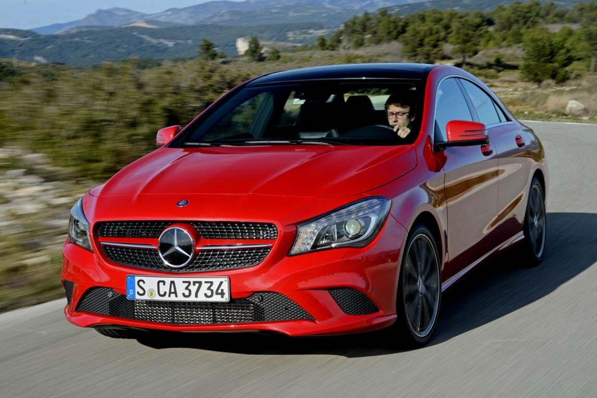 mercedes cla 220 cdi tests. Black Bedroom Furniture Sets. Home Design Ideas