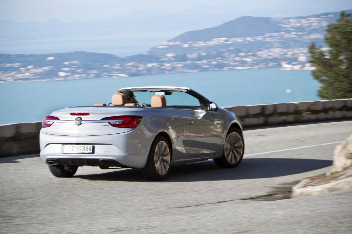 Opel cascada 1 6 sidi turbo tests for Cascada exterior