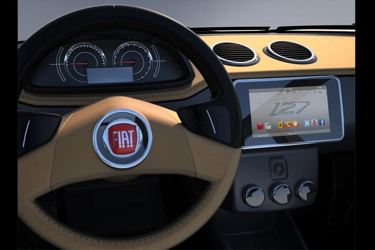 Fiat 127 by David Obendorfer