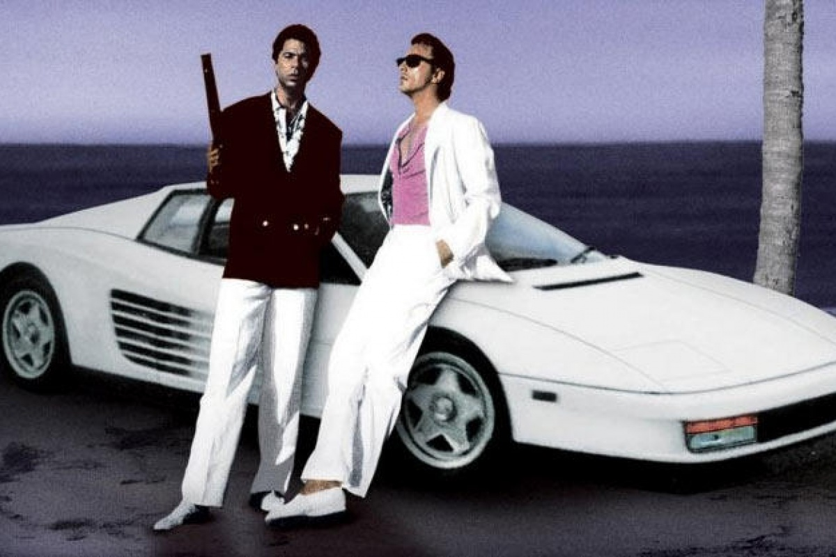 MIAMI VICE TESTAROSSA DON JOHNSON