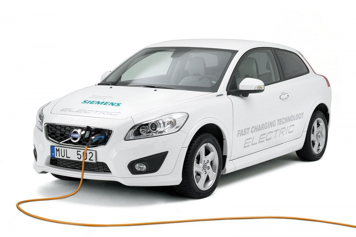 Volvo C30 Electric Fast Charging Technology