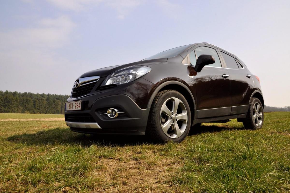 Nissan Van 4x4 Opel Mokka 1.4 turbo 4x4 | Auto55.be | Tests