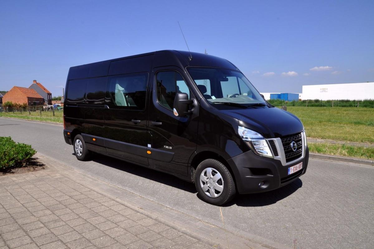 Nissan Nv400 Crew Van Auto55 Be Tests