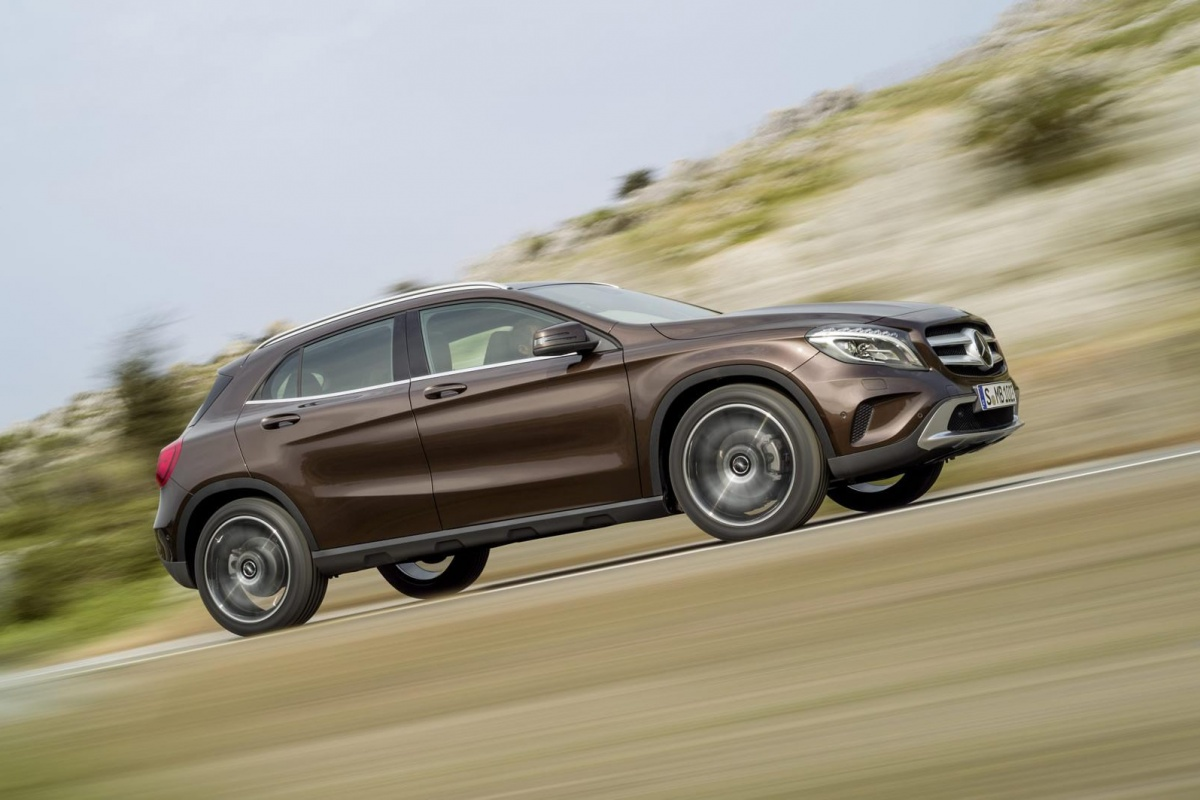 la mercedes gla 180 cdi avec la nouvelle entr e de gamme diesel d origine renault. Black Bedroom Furniture Sets. Home Design Ideas