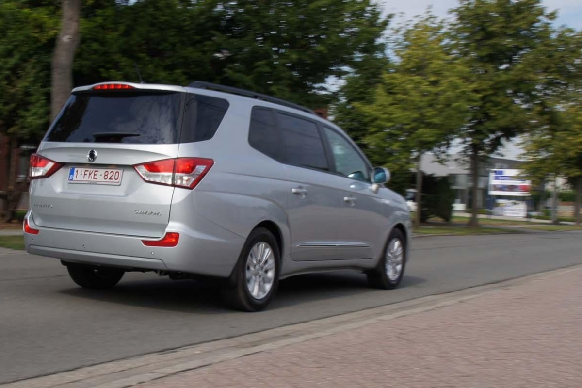 SsangYong Rodius | Auto55.be | Tests