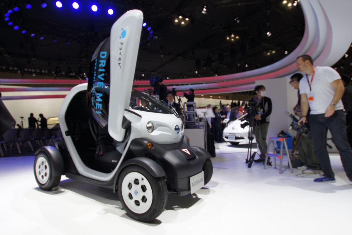 Nissan @ Tokyo Motor Show 2013