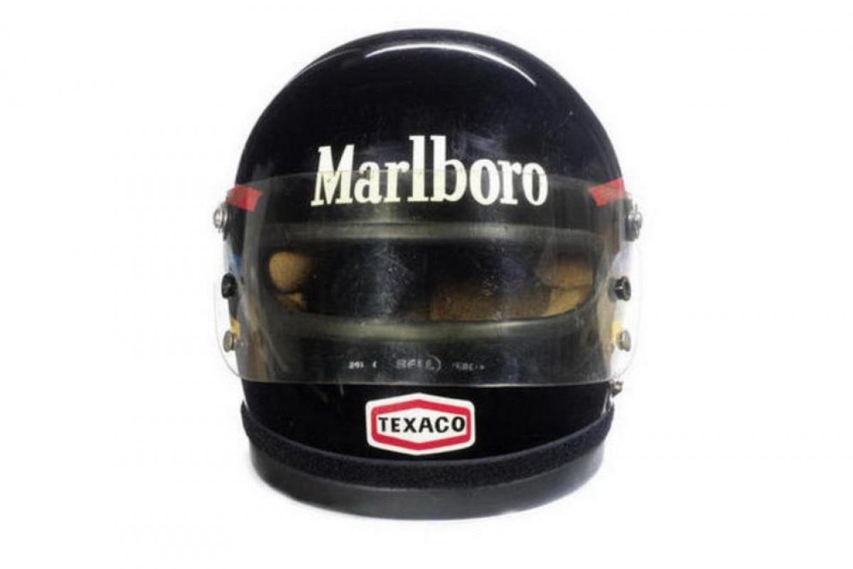 James Hunt Bell helmet