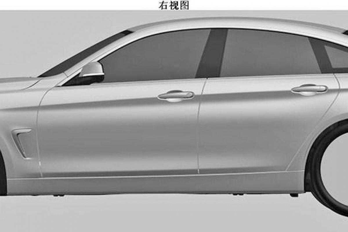 BMW 4 GranCoupé patent images