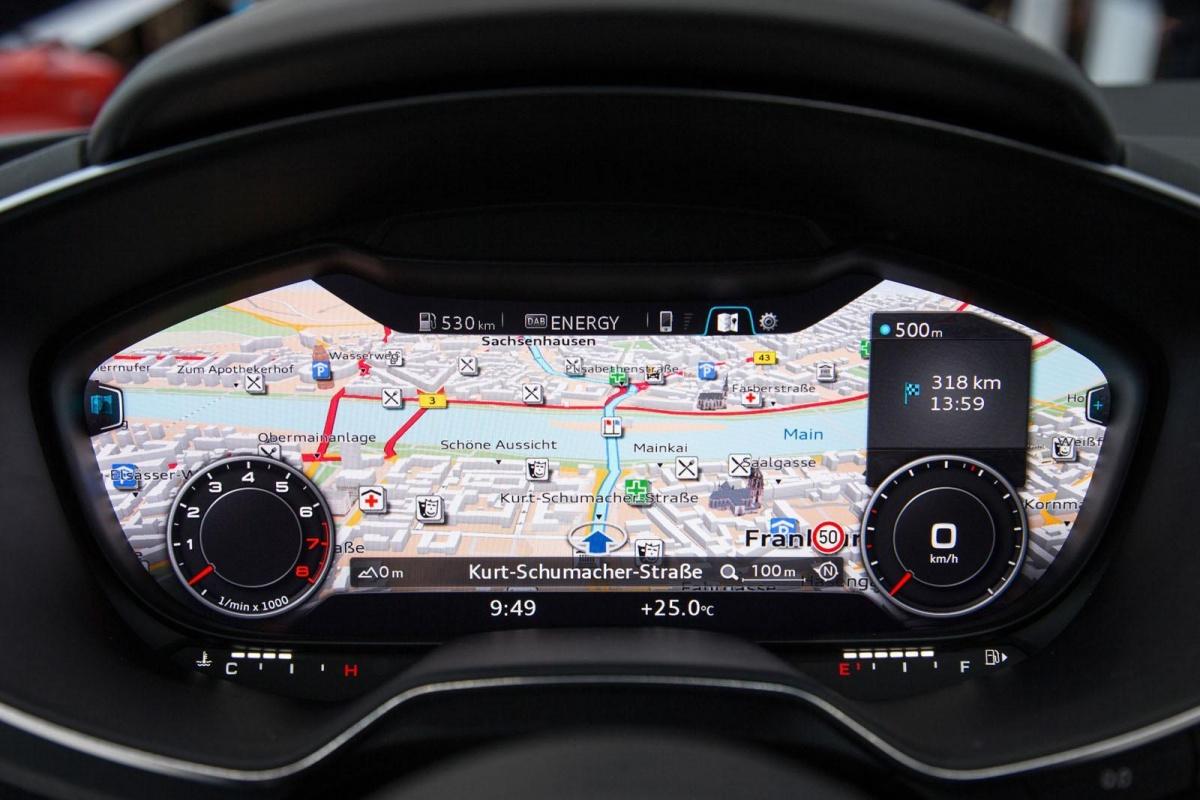 Audi TT MY2015 Interior