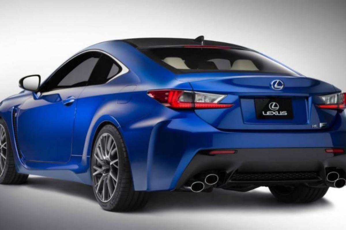 Lexus RC F preview
