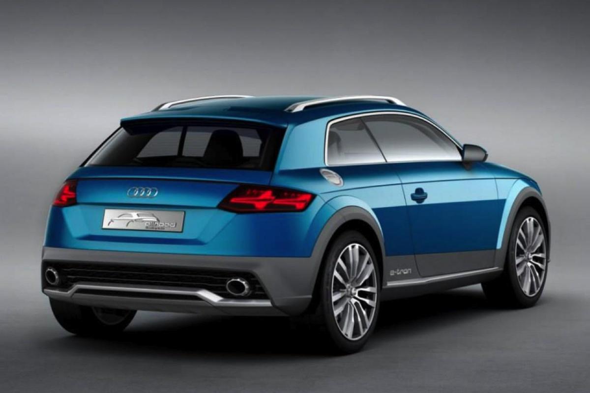 Audi Crossover Concept Detroit Motorshow
