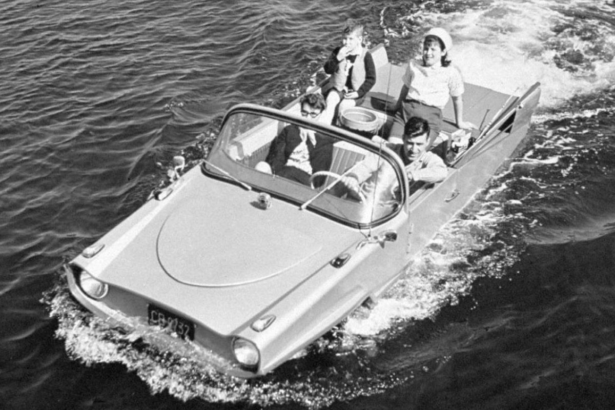 Amphicar 1961 1968 Auto55 Be Retro