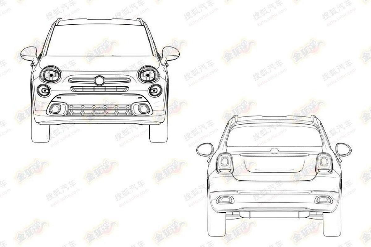 Fiat 500X patent