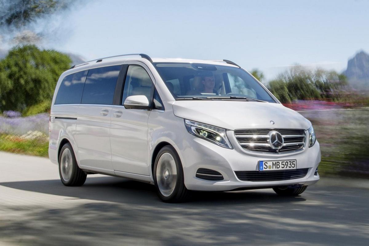 Mercedes V Klasse Wil Meer Premium Zijn Auto55 Be Nieuws
