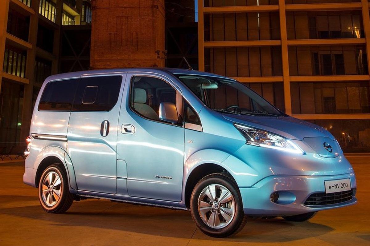 Elektrische Nissan E Nv200 Bedeelt Post In Yokohama Auto55 Be Nieuws