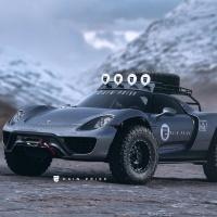 Off Road Porsche 918 Spyder Ziet Er Beter Uit Dan Je Denkt