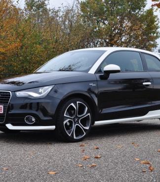 Audi A1 1.6 TDI BlackWhite