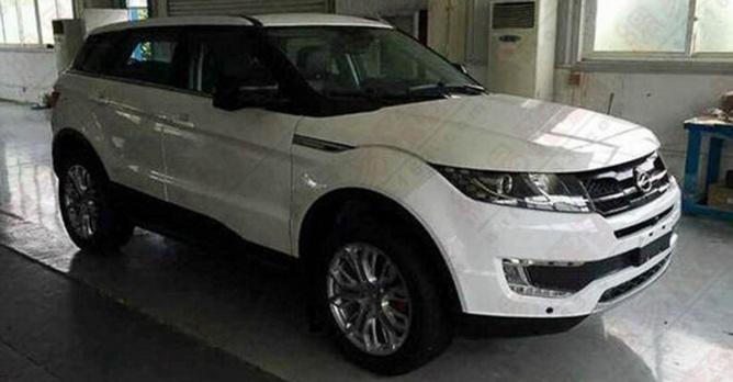 range rover evoque trop cher cette copie chinoise l est 6x moins actualit. Black Bedroom Furniture Sets. Home Design Ideas