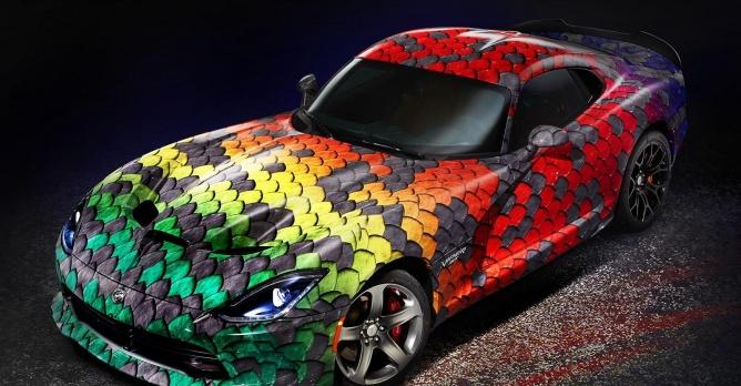 24.000 kleurencombinaties voor Dodge Viper GTS | Auto55.be | Nieuws