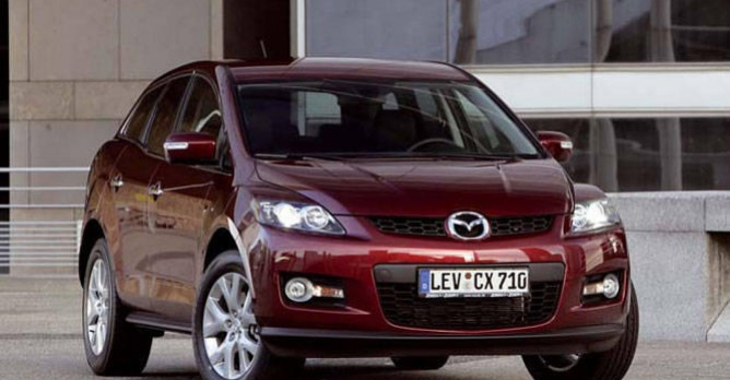 mazda cx 7 tests. Black Bedroom Furniture Sets. Home Design Ideas