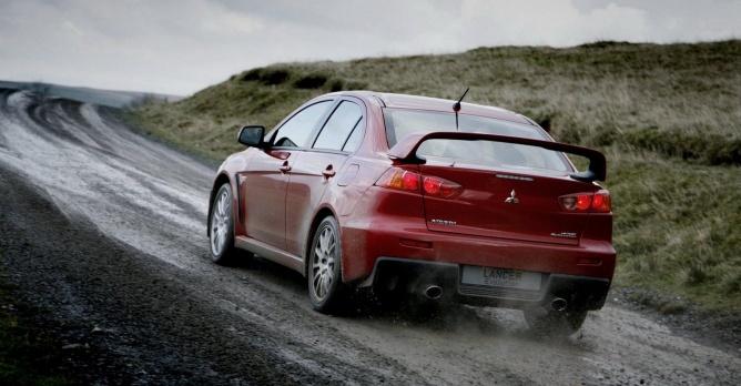 Mitsubishi Lancer EVO wordt... dieselhybride?   Auto55.be   Nieuws