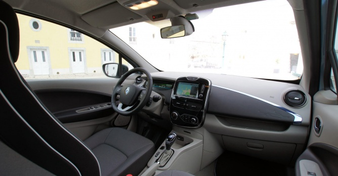 Renault zoe tests for Interieur zoe